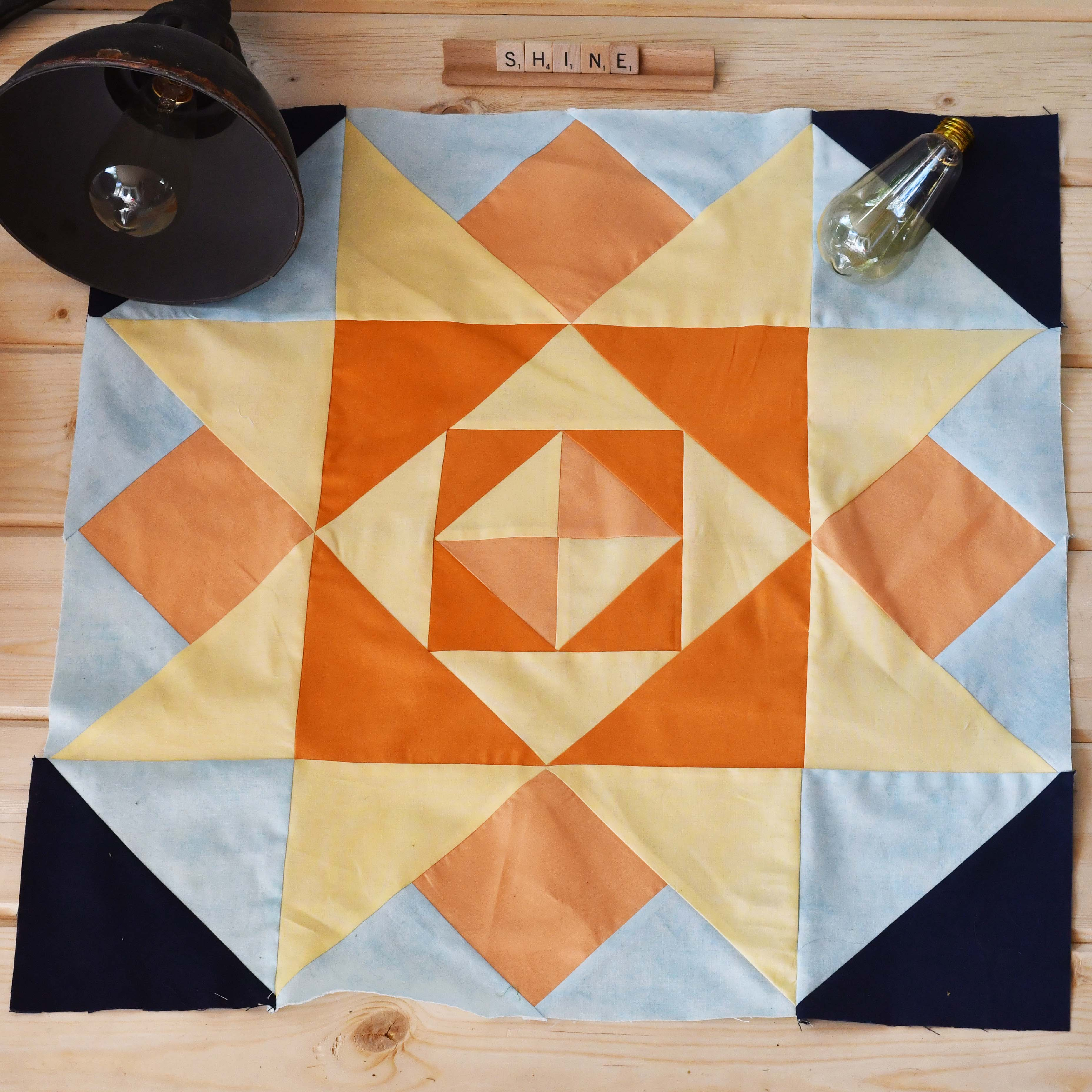 Live Well Live Strong Quilt Pattern