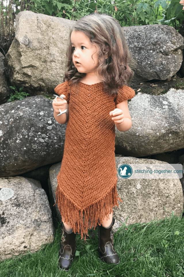 Softer than suede crochet toddler dress stitching together free pattern for an easy crochet toddler dress even if you are a beginner crocheter dt1010fo
