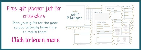 What an amazing Crochet Gift Planner Printable. Can you believe it is a fee download? Now I can finally plan ahead for gift making and not be stressed last minute. There is even a guide for quick gift ideas! #planner #crochetgifts #planning