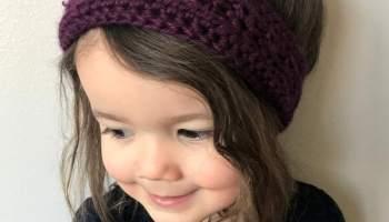 Windward Winter Headband Crochet Pattern Stitching Together