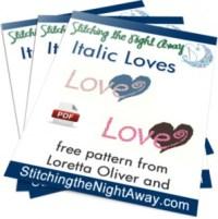 ItalicLovesPatternCover
