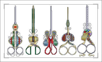Decorative-Scissors-Cross-Stitch-Pattern-Vickery-Collection