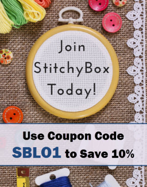 join stitchybox and save 10% off first order