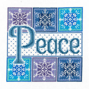 Peace Snowflakes by Imaginating