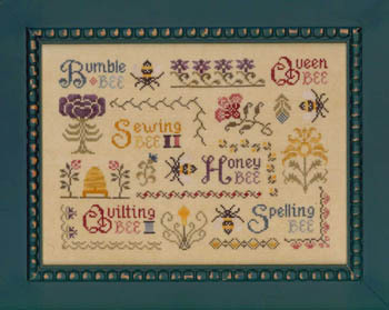 Elizabeth's Designs Antique Bee Sampler