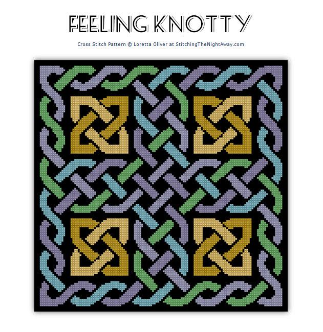 Feeling Knotty Cross Stitch Pattern