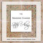 seasons change cross stitch SAL from CM Designs