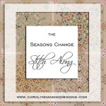 seasons change cross stitch SAL from CM Designs