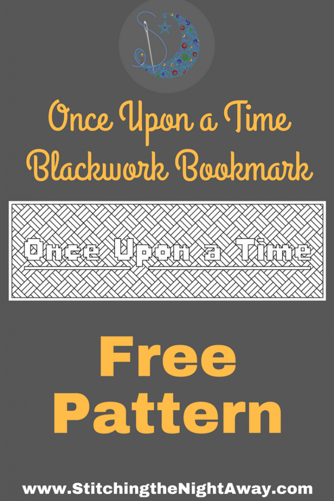 Once Upon a Time Free Bookmark Stitching Pattern from Stitching the Night Away