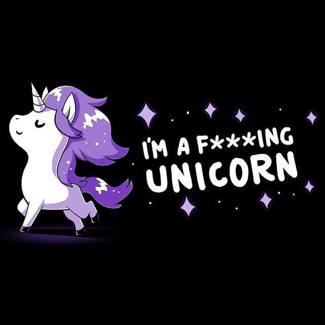 I'm a F***ing Unicorn shirt from TeeTurtle