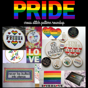 LGBTQ Pride Cross Stitch Pattern Roundup