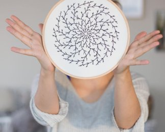 Branch Mandala Embroidery Pattern (8)