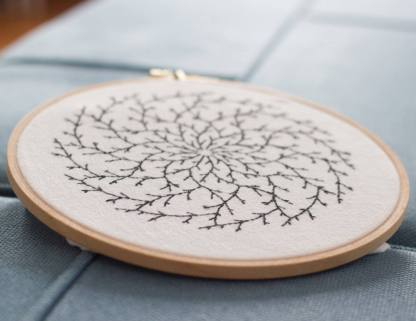 Branch Mandala Embroidery Pattern Photos