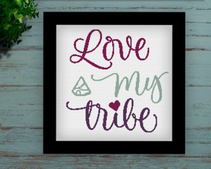 LMT-Quote cross stitch pattern