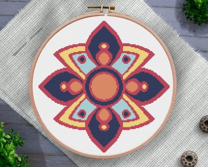 Asian-Ornament-cross-stitch-pattern