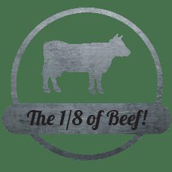 the 1/8 of beef bundle