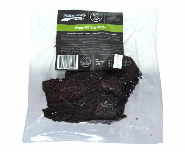Prime Rib Beef Strips (Fresh Jerky)