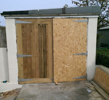 Garage Doors Taking Shape St Ives Property Maintenance