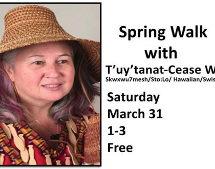 Spring Walk with Cease Wyss