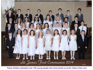 st james RE class 2014