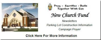 New Church Fund Progress