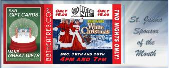 B&B Theatre Sponsor Ad - December 5-18