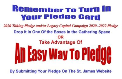 An Easy Way To Pledge – Pledge On-Line