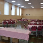 hall informal dinner