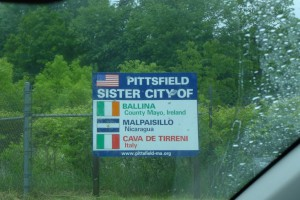 Entering Pittsfield on Rte 7.