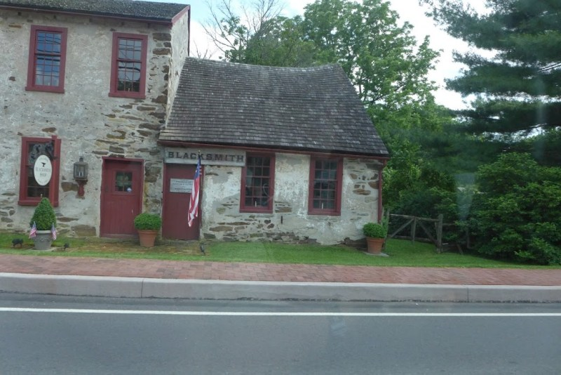 On Strasbourg Road, Pennsylvania