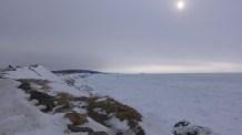 March 9, Terre Noire looking southwest.
