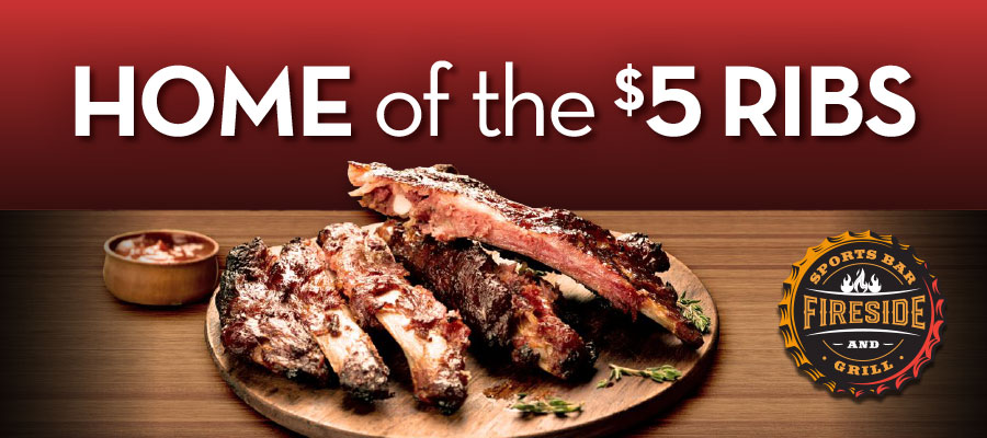 $5 Ribs Special
