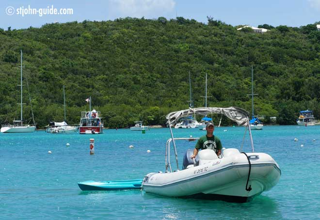 Rent A Dinghy On St. John USVI