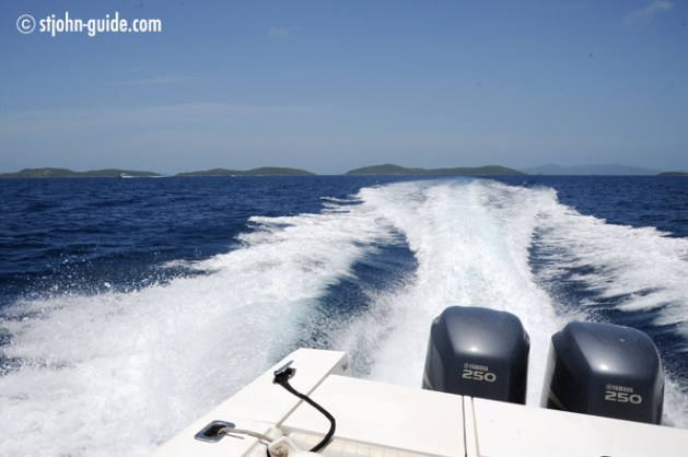 Powerboat Rental St. John USVI