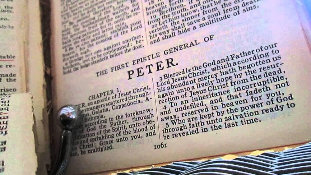 Sermon on 1 Peter 1:1-9 Image