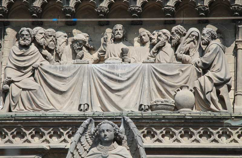 Last Supper on Cologne Cathedral
