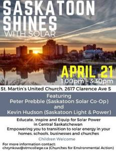 Saskatoon Shines with Solar