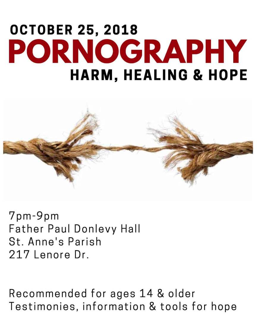 Pornography: Harm, Healing, and Hope | The Cathedral of St  John the