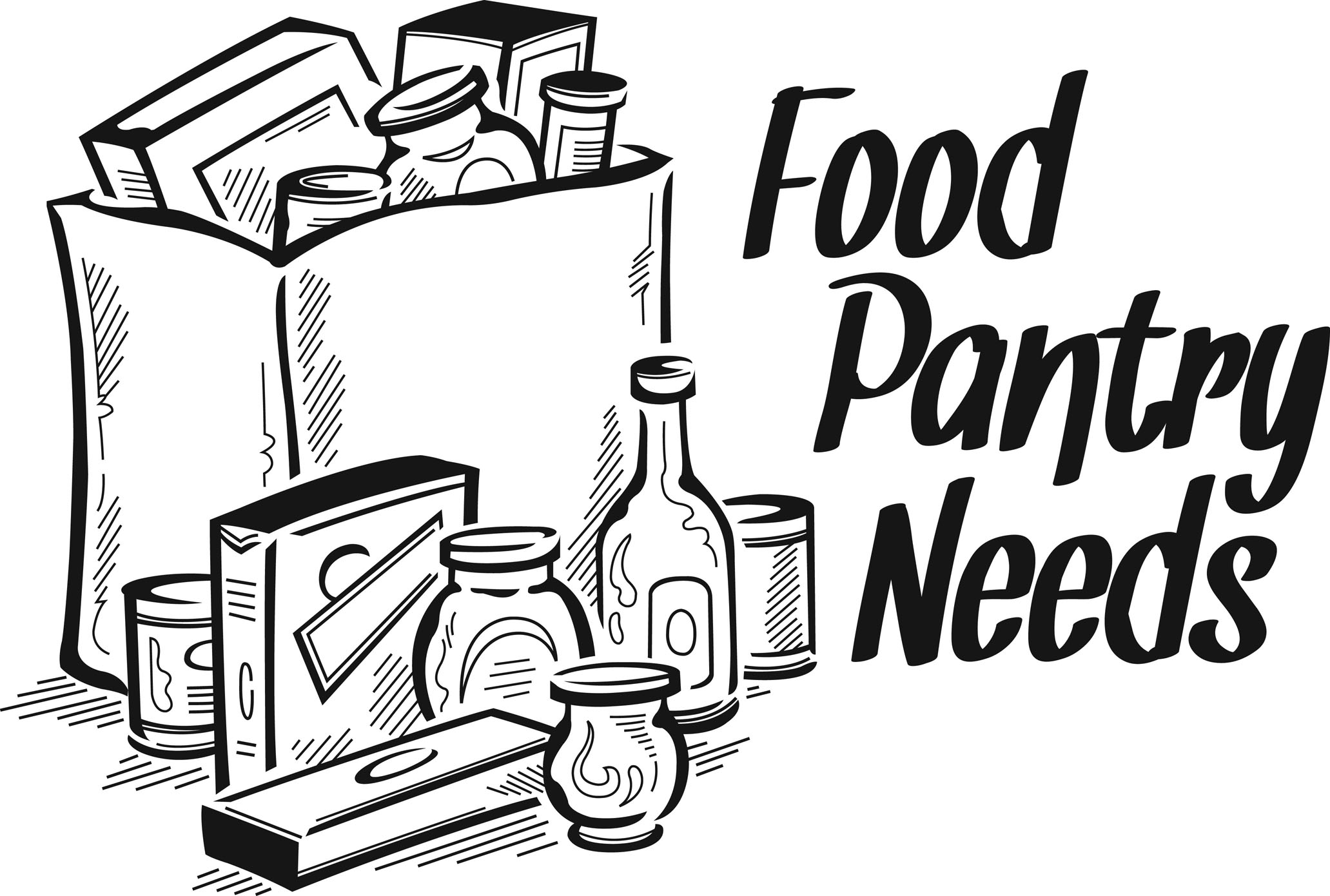 Pantry Coloring Page Sketch Coloring Page