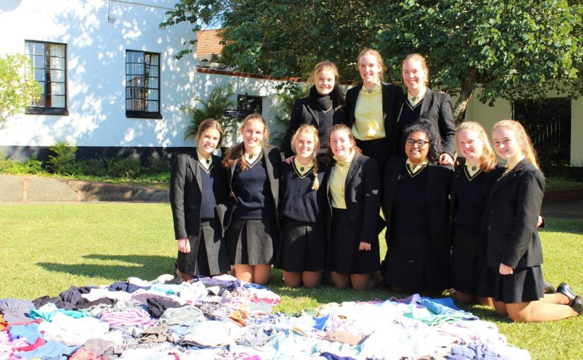 Interact Clothing Drive