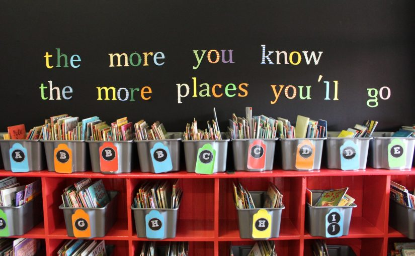 Our New-Look Junior School Library!