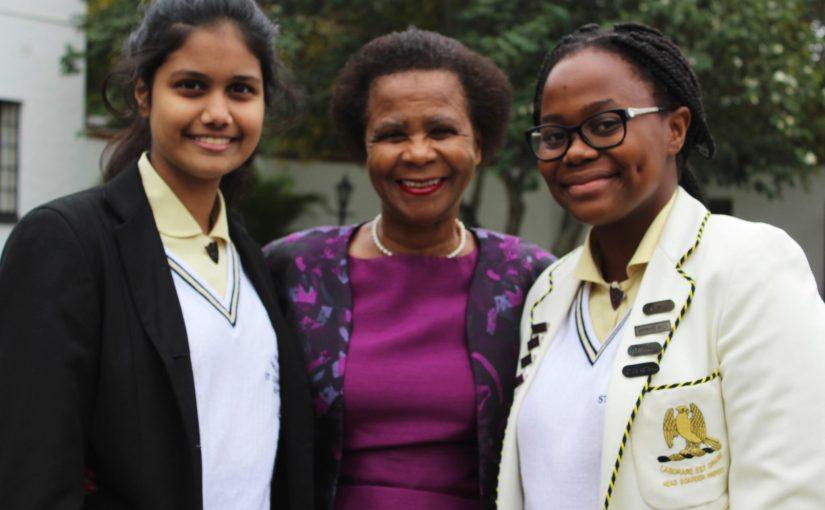 Dr Ramphele Visits St John's D.S.G.