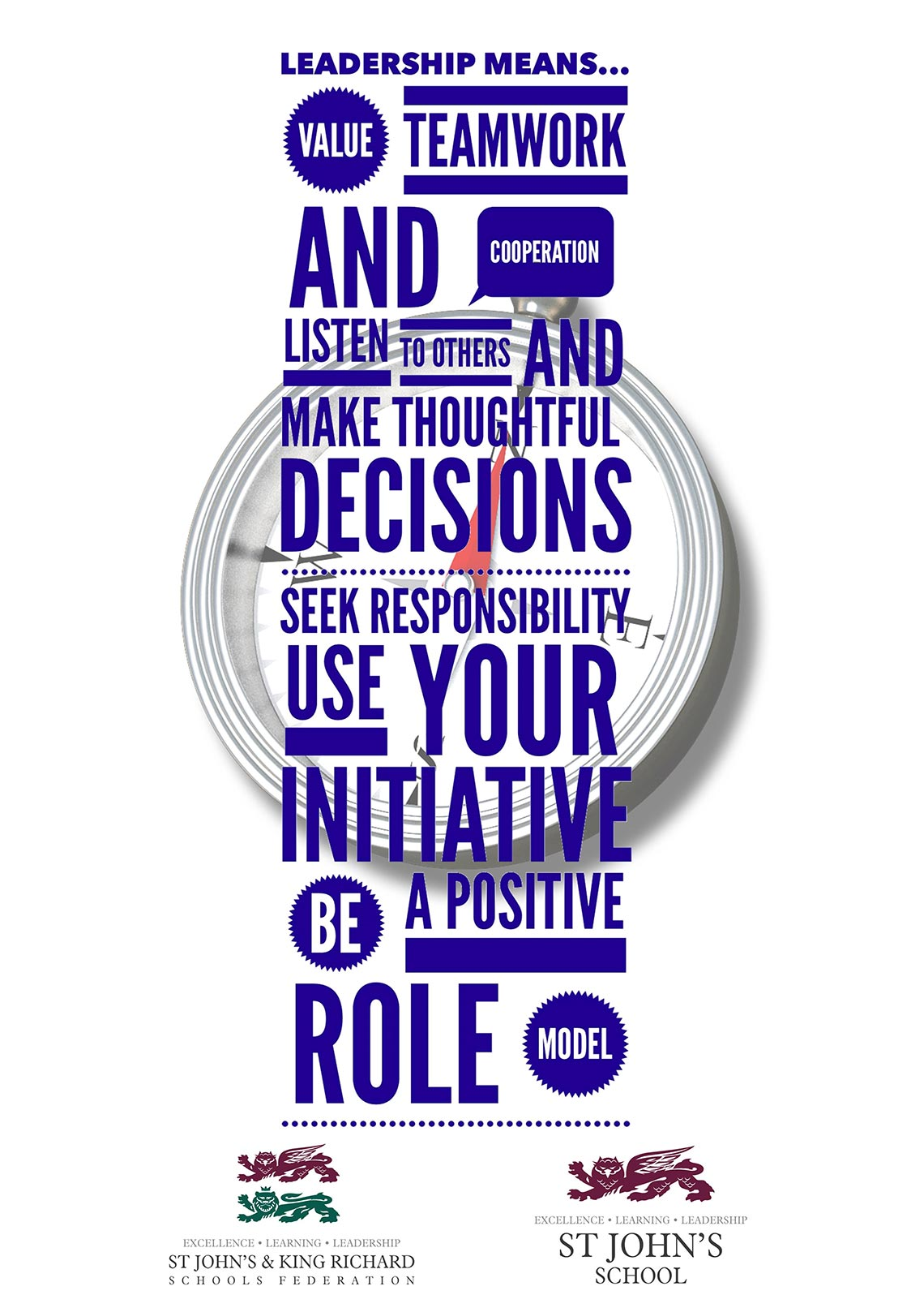 Sjs And Krs Core Values Posters Leadership