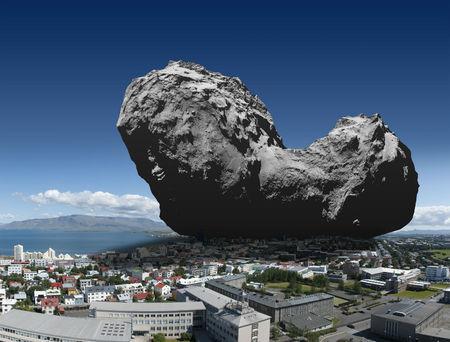 Rosetta geimfar Stj246rnufr230240ivefurinn