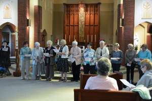 Associates and Sisters in Chapel
