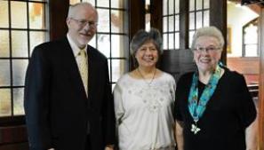 New Associates Richard Cauley, Maria Javonovich and Elizabeth Miller