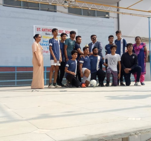 St. Anthony -Inter School Basket Ball & Football Competition