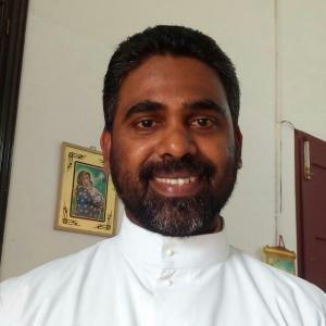 fr joji kuthukatt Parish priest thevara st joseph church
