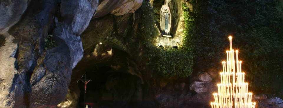 Id-Dehriet tal-Madonna ġewwa Lourdes