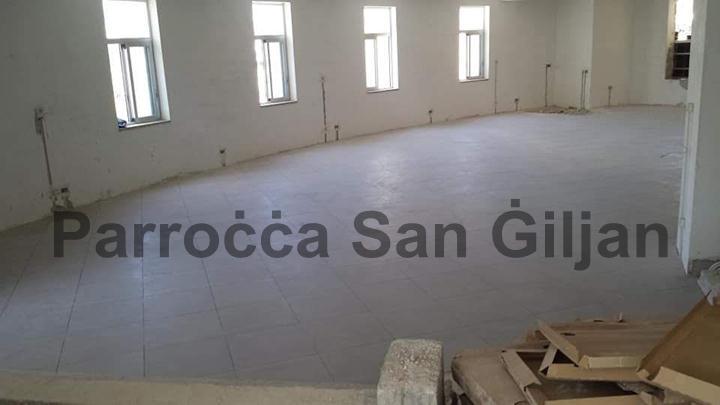 Aktar Xogħol fis-Sala Parrokjali l-Ġdida